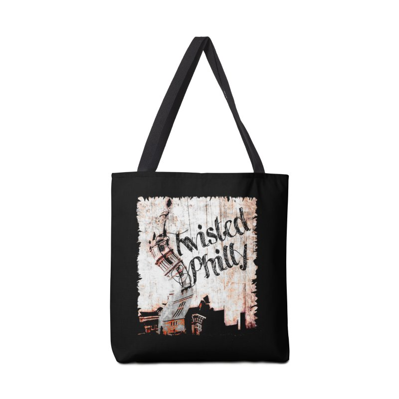 Twisted Philly Logo Accessories Bag by TwistedPhillyPodcast's Shop