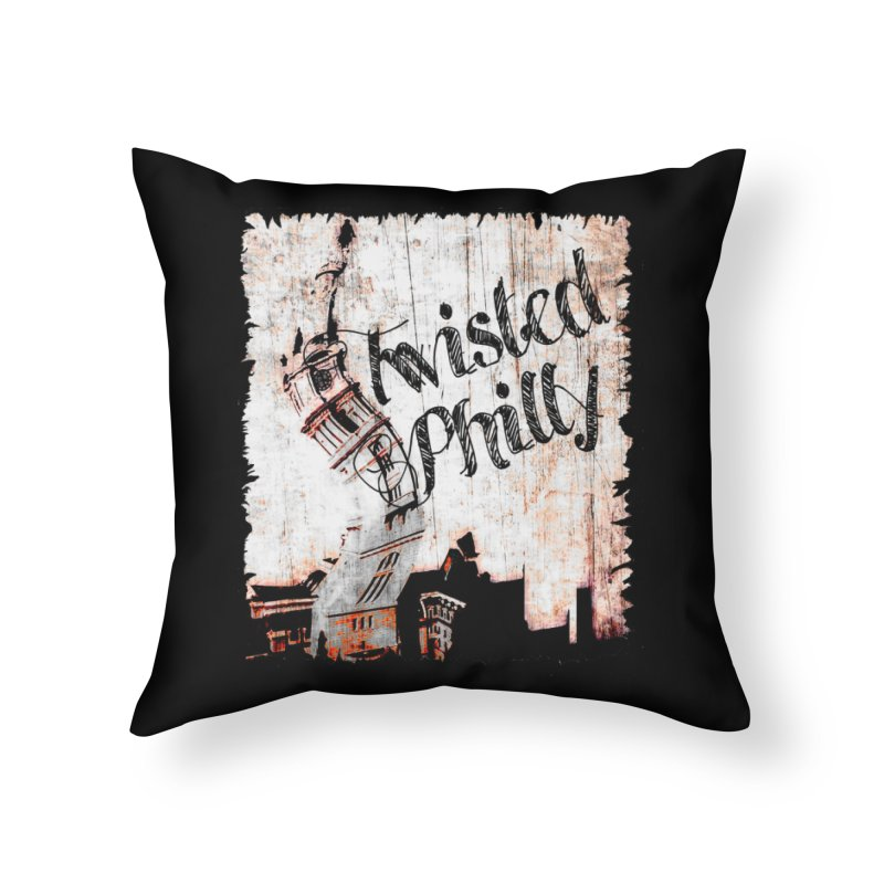 Twisted Philly Logo Home Throw Pillow by TwistedPhillyPodcast's Shop