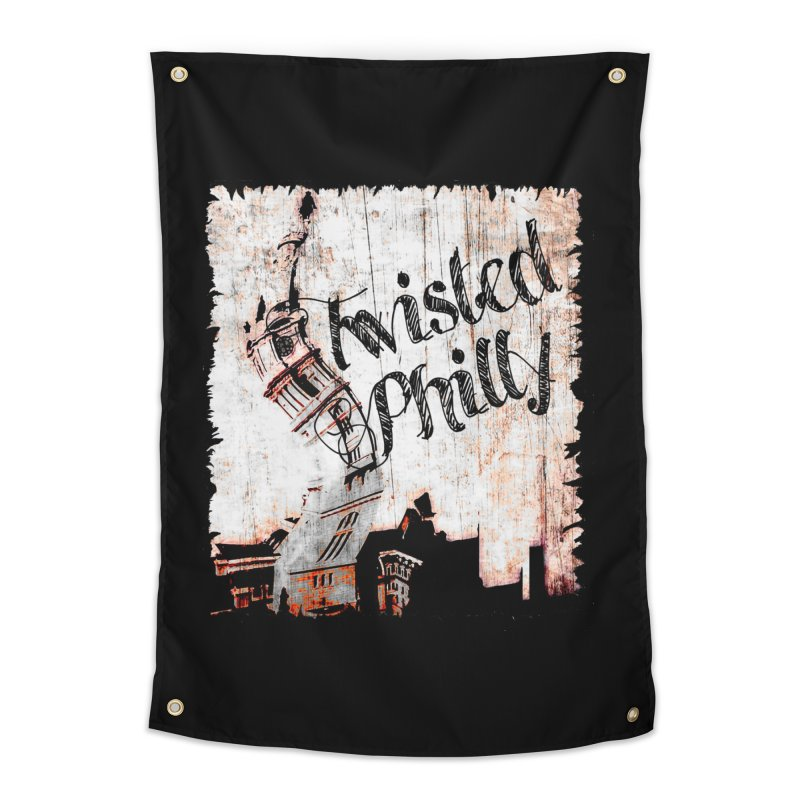 Twisted Philly Logo Home Tapestry by TwistedPhillyPodcast's Shop