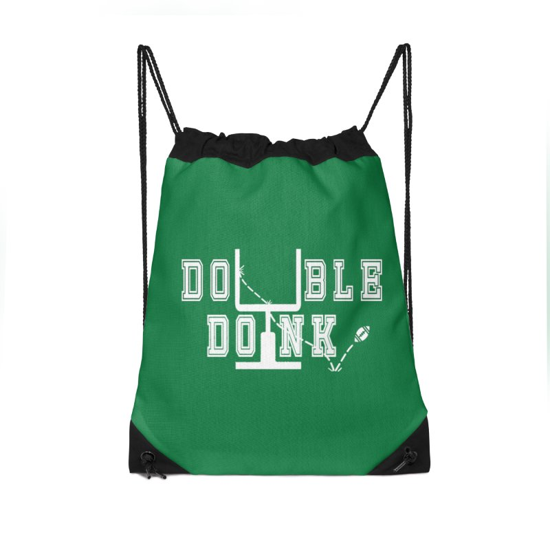 The Double Doink Accessories Drawstring Bag Bag by TwistedPhillyPodcast's Shop