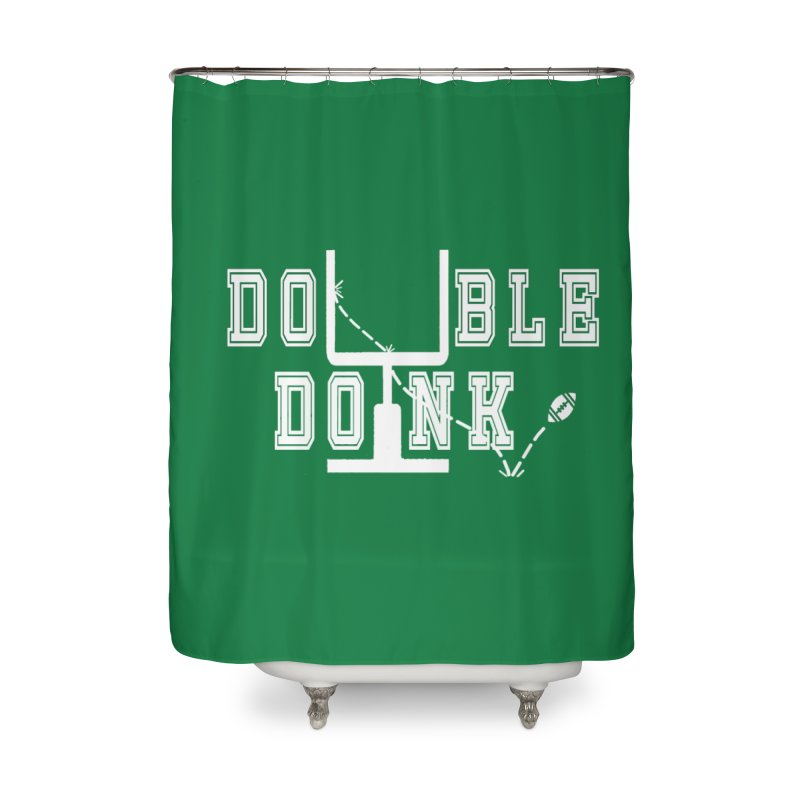 The Double Doink Home Shower Curtain by TwistedPhillyPodcast's Shop
