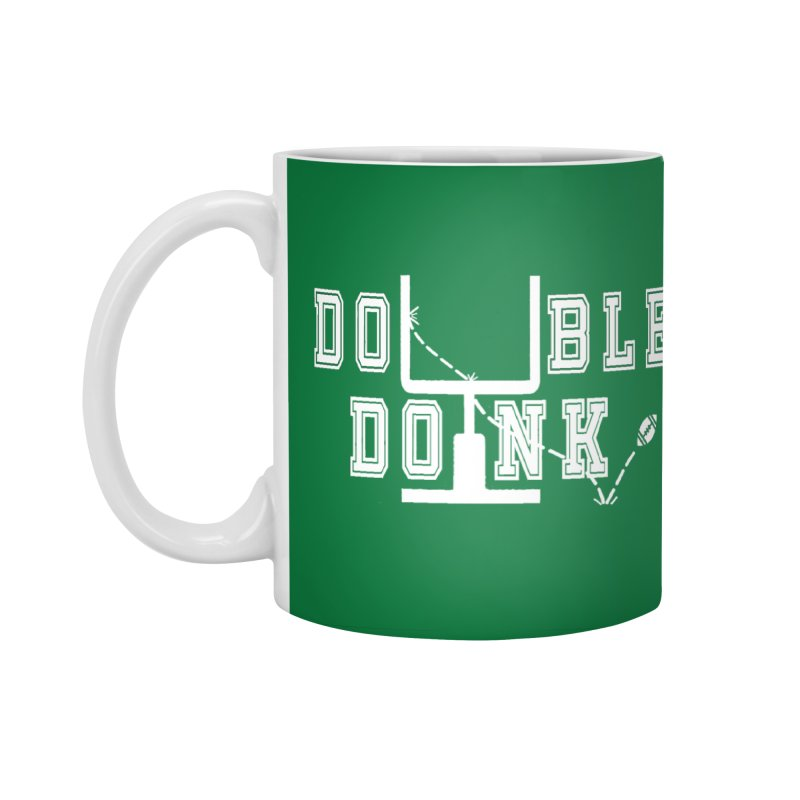 The Double Doink Accessories Standard Mug by TwistedPhillyPodcast's Shop