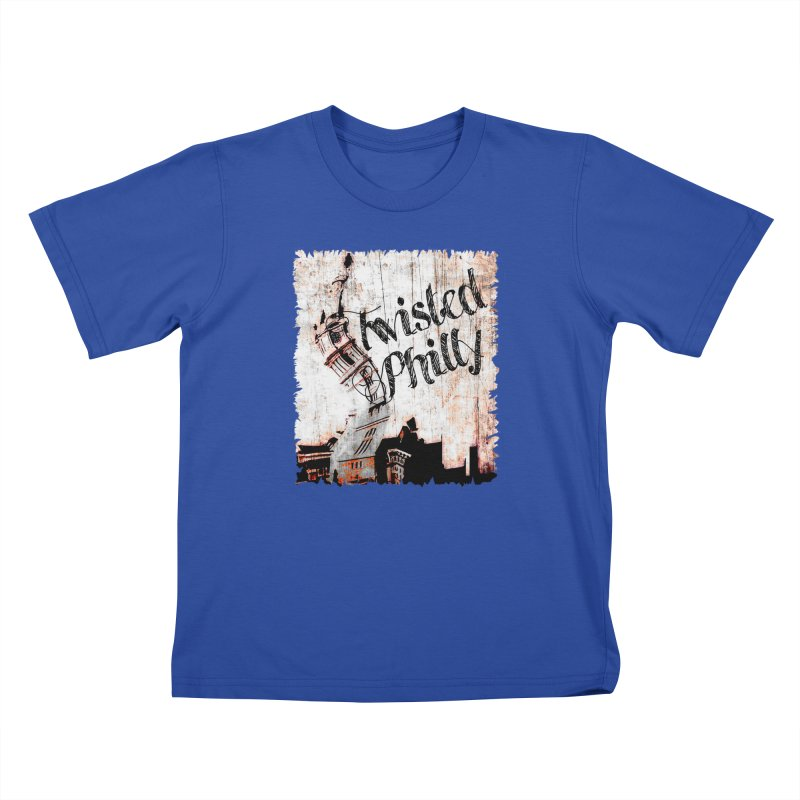 Men's Twisted Philly Logo Kids T-Shirt by TwistedPhillyPodcast's Shop