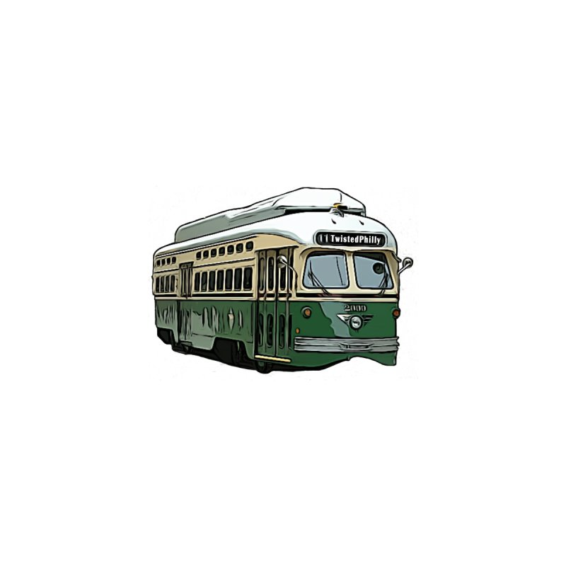 TwistedPhilly Zoo Trolley Accessories Sticker by TwistedPhillyPodcast's Shop