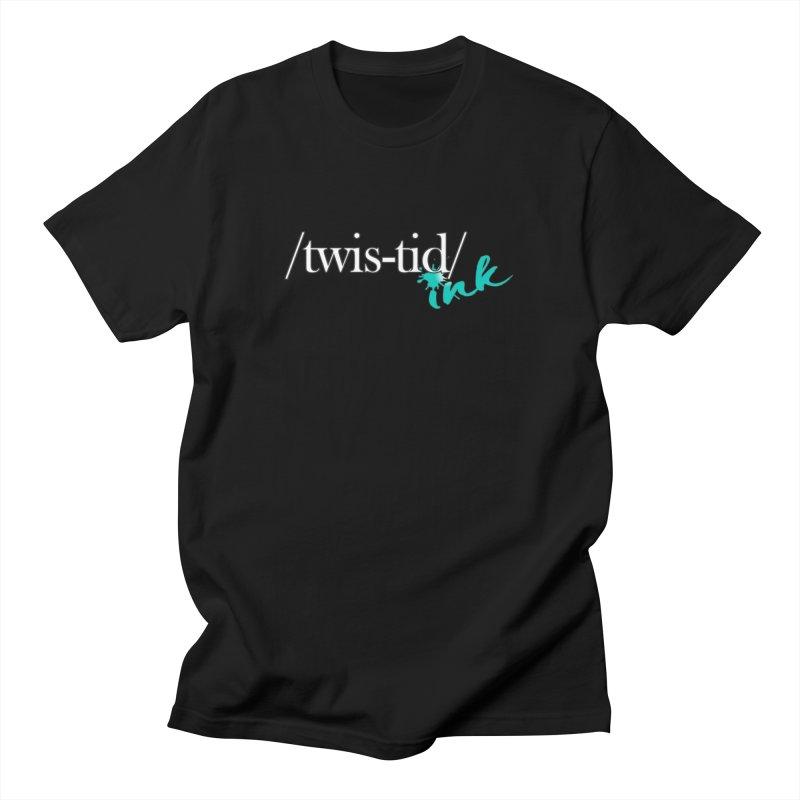 Twistid teal Men's T-Shirt by Twistid ink's Artist Shop