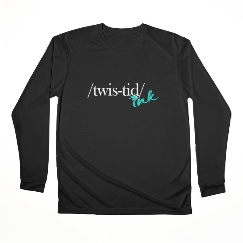 Twistid teal Men's Longsleeve T-Shirt by Twistid ink's Artist Shop