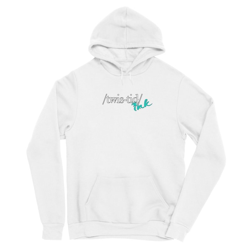 Twistid teal Women's Pullover Hoody by Twistid ink's Artist Shop