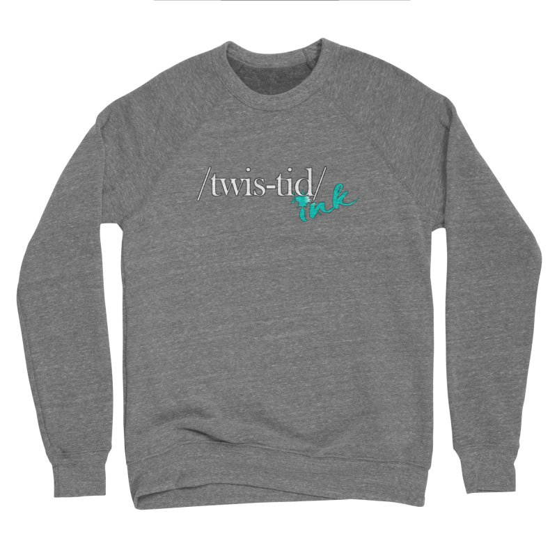 Twistid teal Men's Sponge Fleece Sweatshirt by Twistid ink's Artist Shop