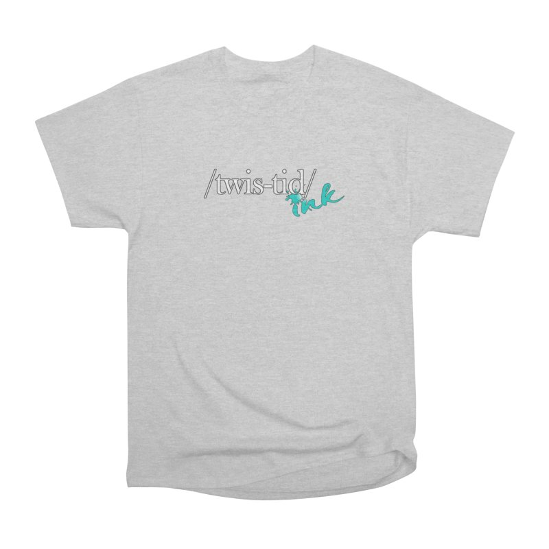Twistid teal Women's Heavyweight Unisex T-Shirt by Twistid ink's Artist Shop
