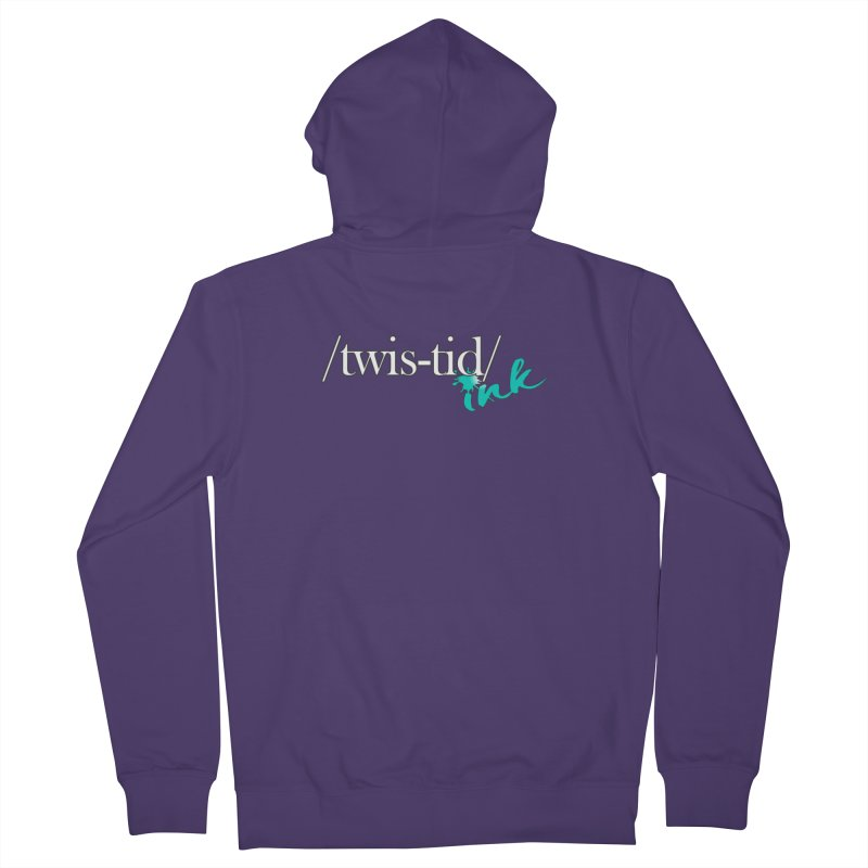 Twistid teal Women's Zip-Up Hoody by Twistid ink's Artist Shop