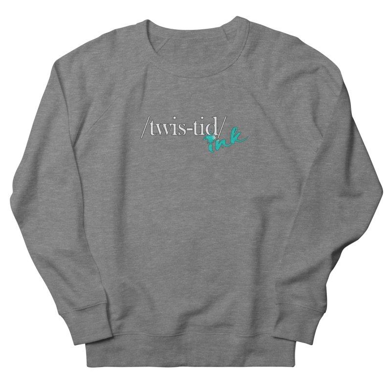Twistid teal Men's French Terry Sweatshirt by Twistid ink's Artist Shop