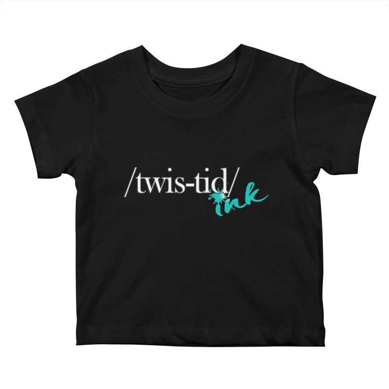 Twistid teal Kids Baby T-Shirt by Twistid ink's Artist Shop