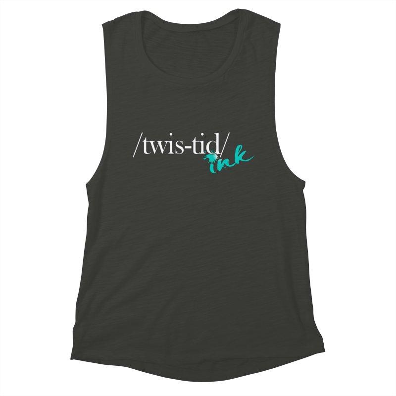 Twistid teal Women's Muscle Tank by Twistid ink's Artist Shop
