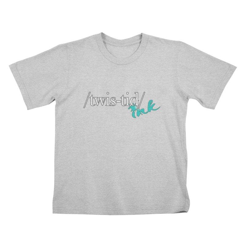 Twistid teal Kids T-Shirt by Twistid ink's Artist Shop