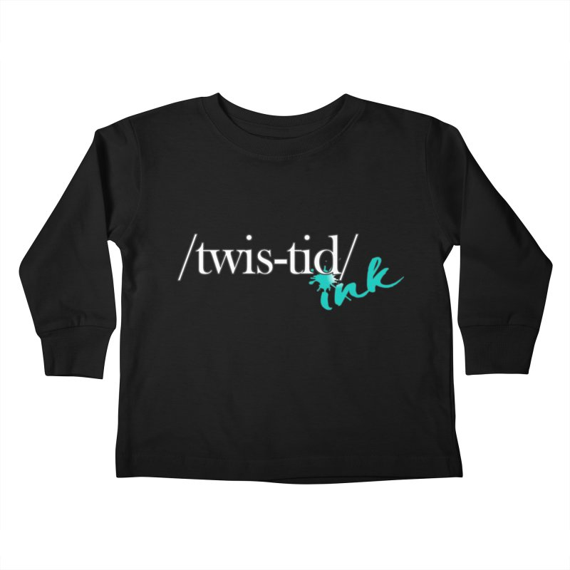 Twistid teal Kids Toddler Longsleeve T-Shirt by Twistid ink's Artist Shop