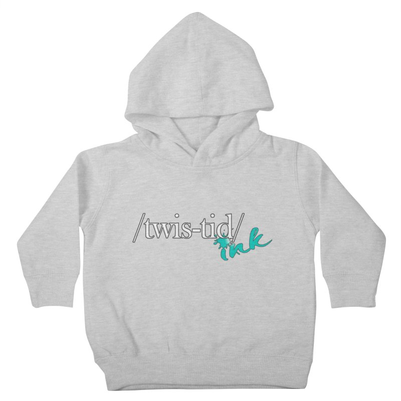 Twistid teal Kids Toddler Pullover Hoody by Twistid ink's Artist Shop