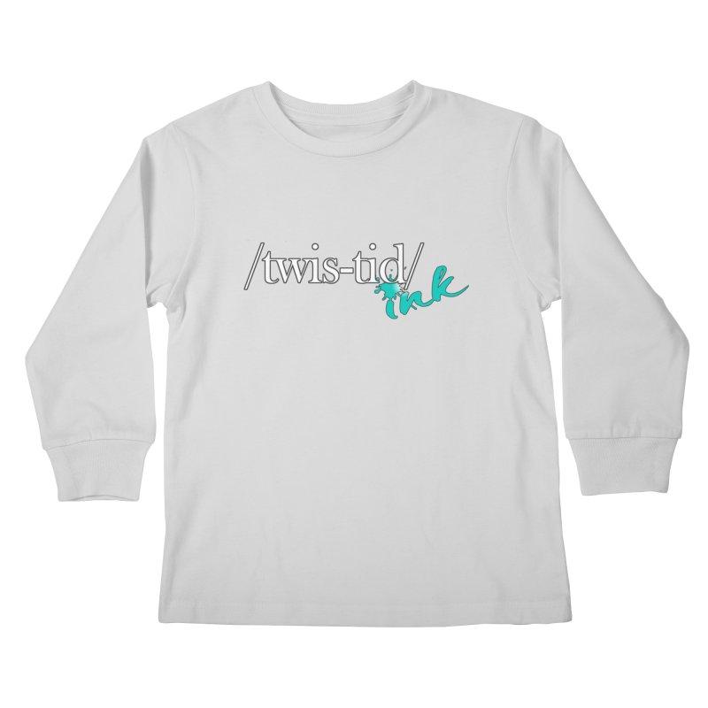 Twistid teal Kids Longsleeve T-Shirt by Twistid ink's Artist Shop