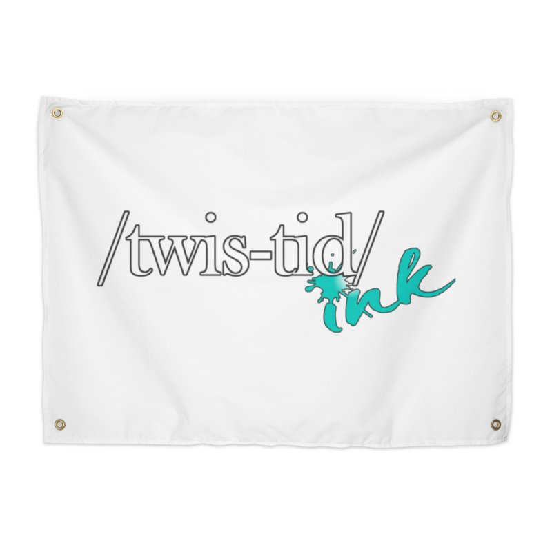 Twistid teal Home Tapestry by Twistid ink's Artist Shop