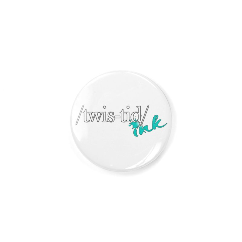 Twistid teal Accessories Button by Twistid ink's Artist Shop