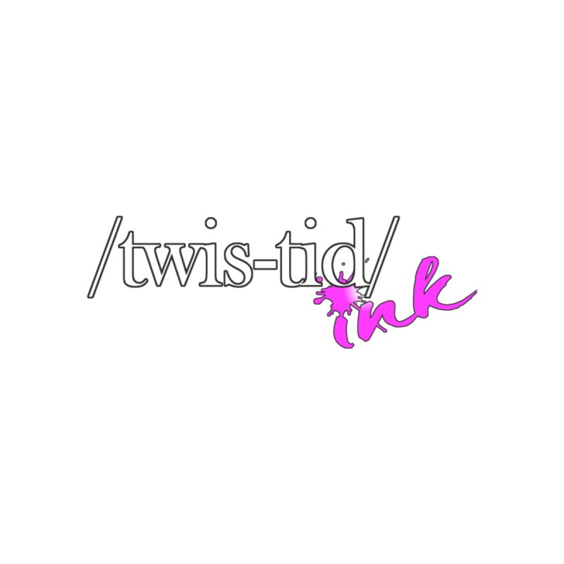 Twistid pink Accessories Sticker by Twistid ink's Artist Shop