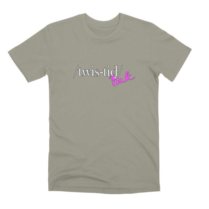 Twistid pink Men's Premium T-Shirt by Twistid ink's Artist Shop