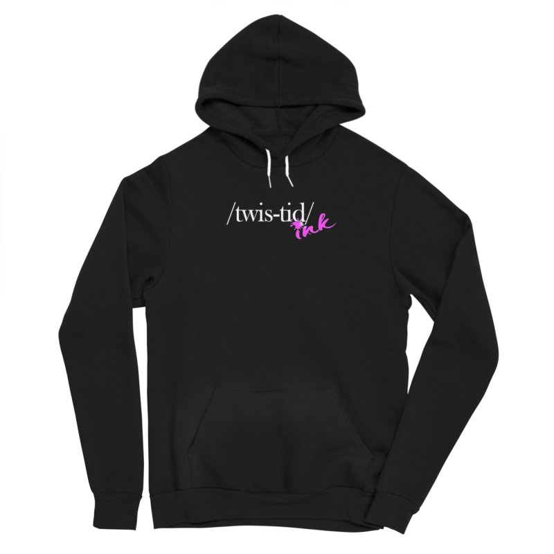 Twistid pink Men's Pullover Hoody by Twistid ink's Artist Shop