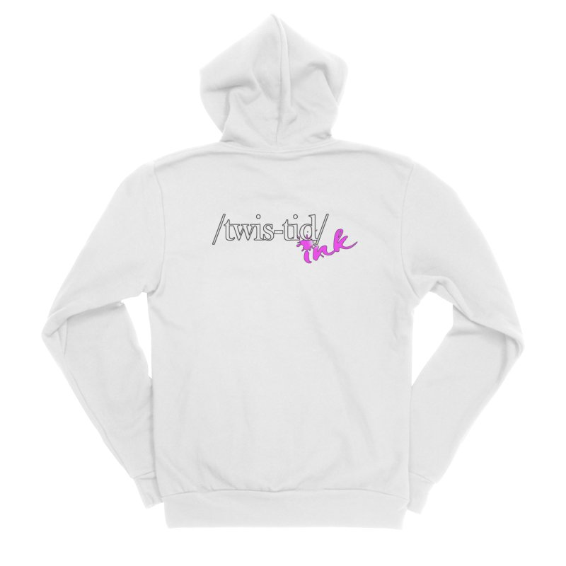 Twistid pink Men's Zip-Up Hoody by Twistid ink's Artist Shop