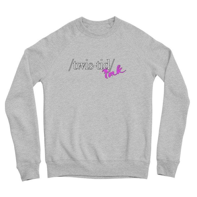 Twistid pink Men's Sponge Fleece Sweatshirt by Twistid ink's Artist Shop
