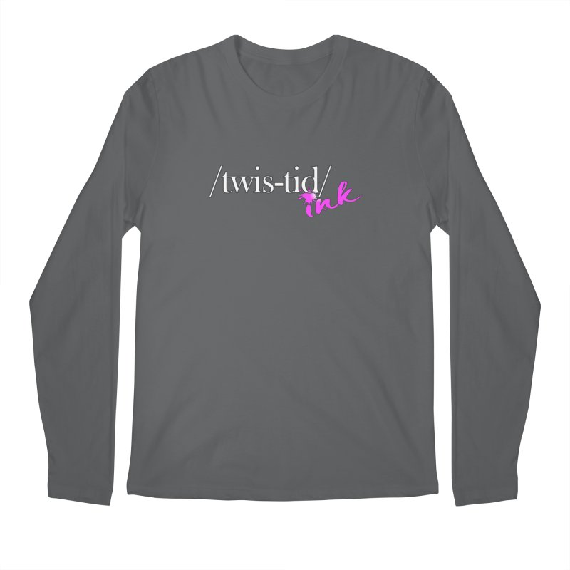 Twistid pink Men's Longsleeve T-Shirt by Twistid ink's Artist Shop