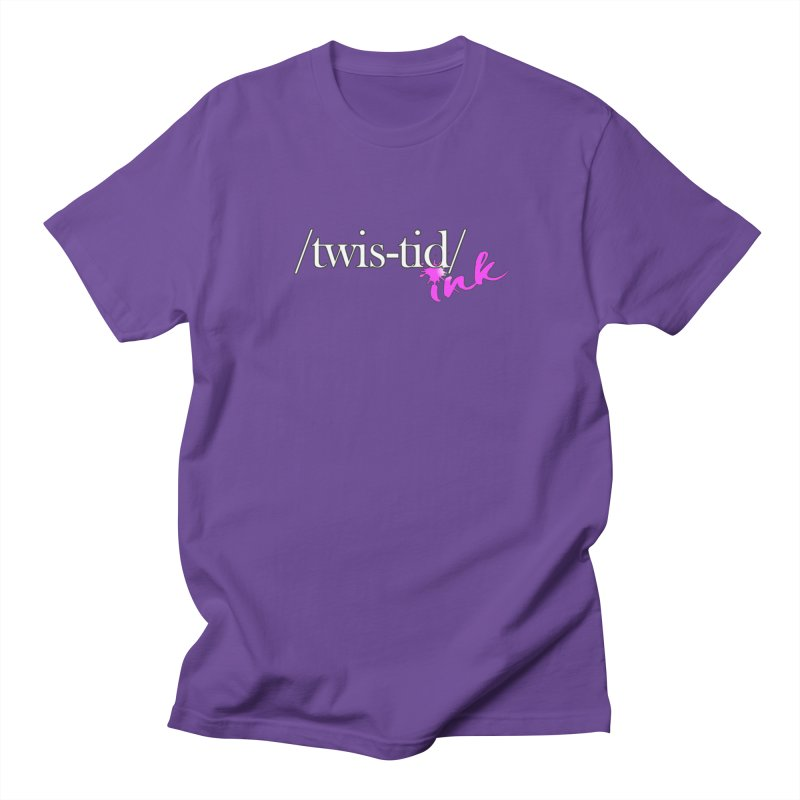Twistid pink Men's T-Shirt by Twistid ink's Artist Shop