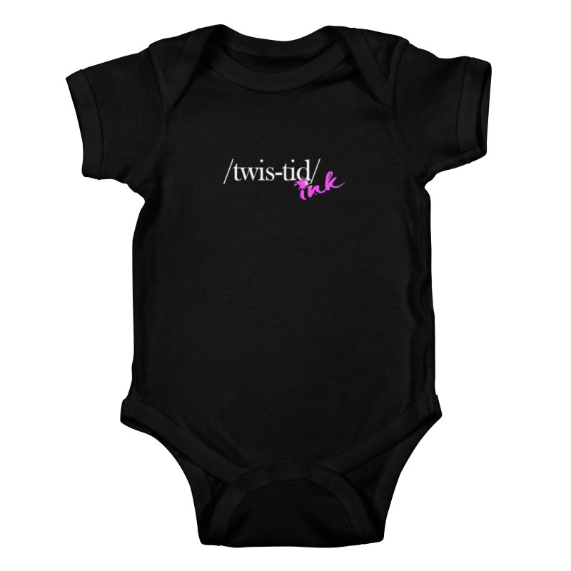 Twistid pink Kids Baby Bodysuit by Twistid ink's Artist Shop