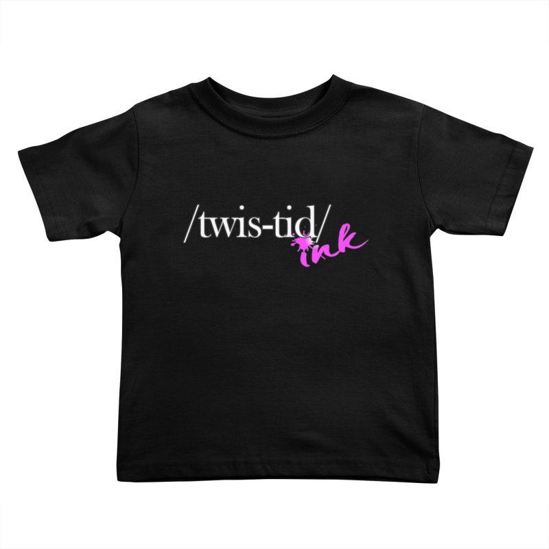 Twistid pink Kids Toddler T-Shirt by Twistid ink's Artist Shop