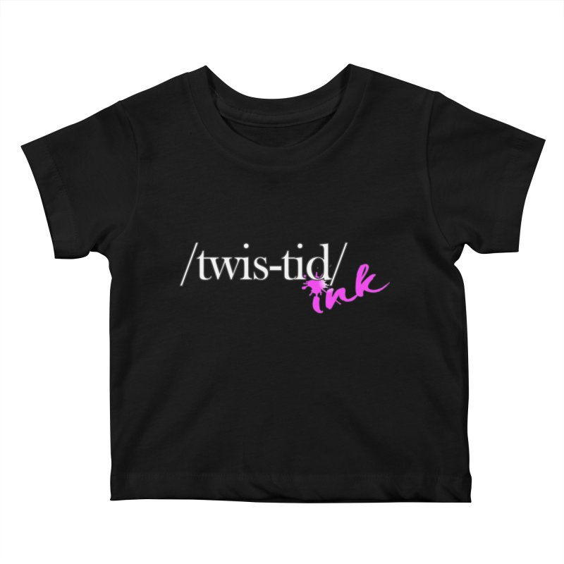 Twistid pink Kids Baby T-Shirt by Twistid ink's Artist Shop