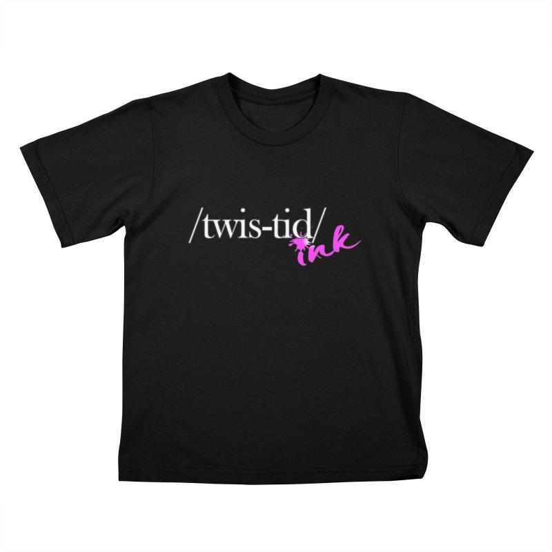 Twistid pink Kids T-Shirt by Twistid ink's Artist Shop