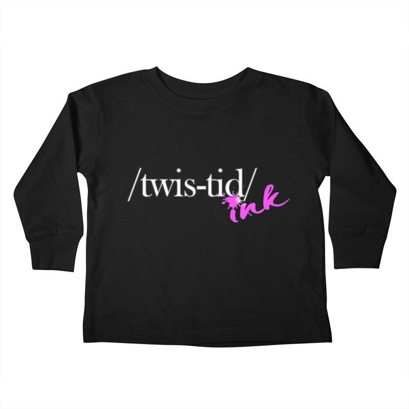 Twistid pink Kids Toddler Longsleeve T-Shirt by Twistid ink's Artist Shop