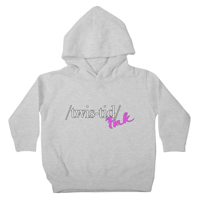 Twistid pink Kids Toddler Pullover Hoody by Twistid ink's Artist Shop
