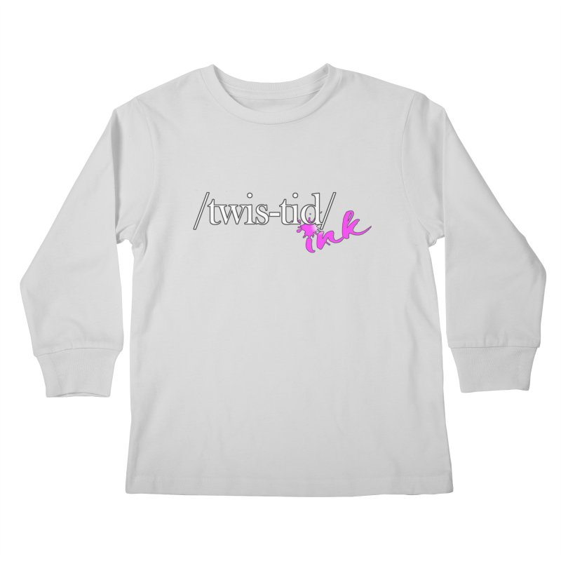 Twistid pink Kids Longsleeve T-Shirt by Twistid ink's Artist Shop