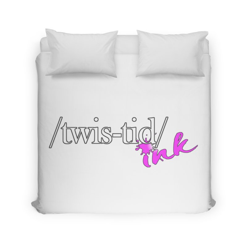 Twistid pink Home Duvet by Twistid ink's Artist Shop