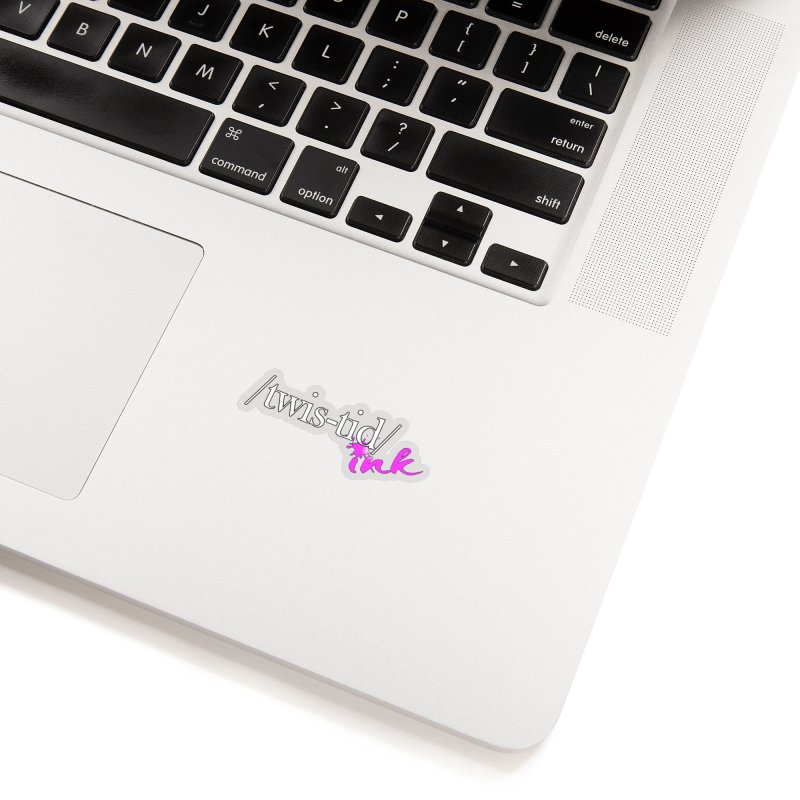 Twistid pink Accessories Sticker by Twistid ink's Artist Shop