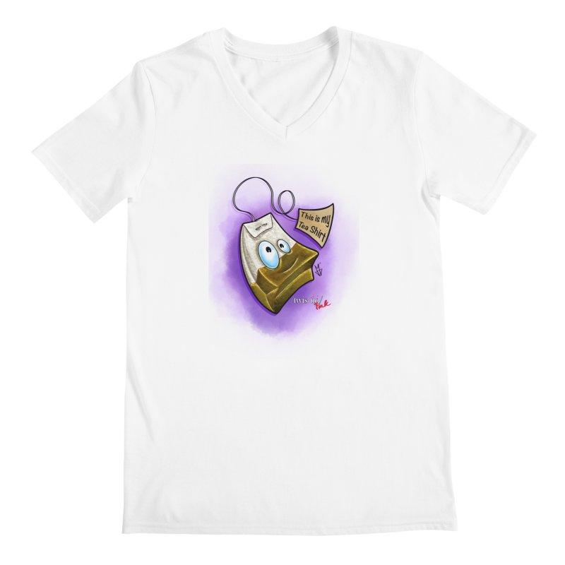 Twistid Tea shirt Men's Regular V-Neck by Twistid ink's Artist Shop