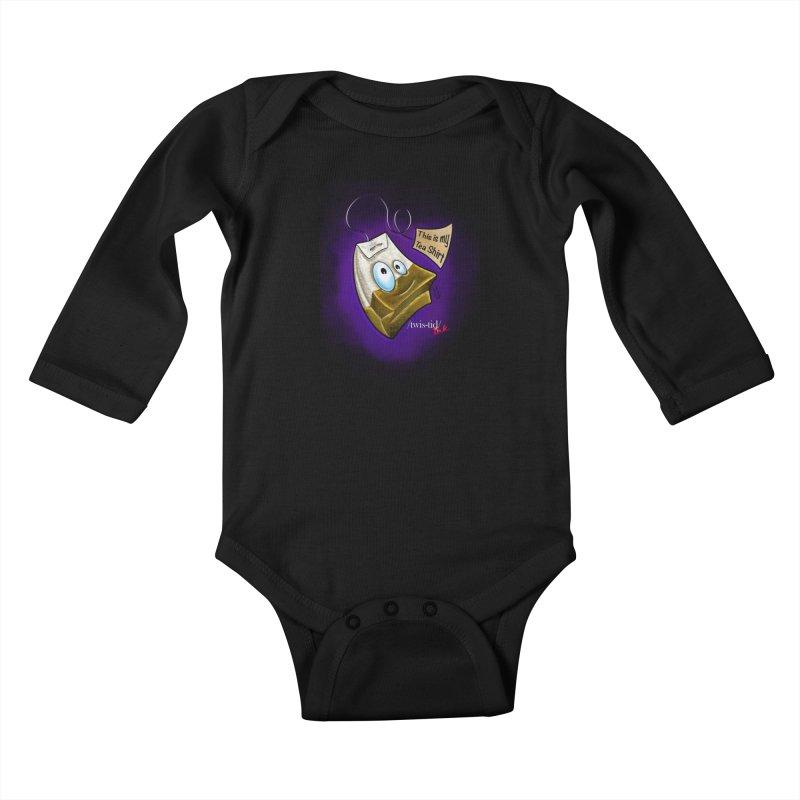 Twistid Tea shirt Kids Baby Longsleeve Bodysuit by Twistid ink's Artist Shop
