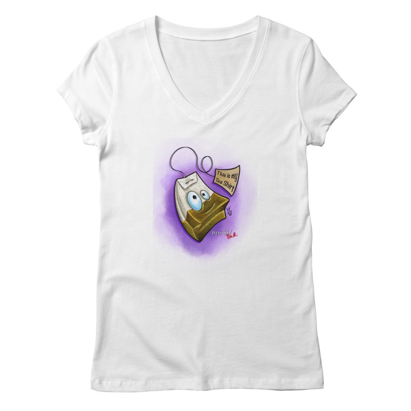 Twistid Tea shirt Women's V-Neck by Twistid ink's Artist Shop