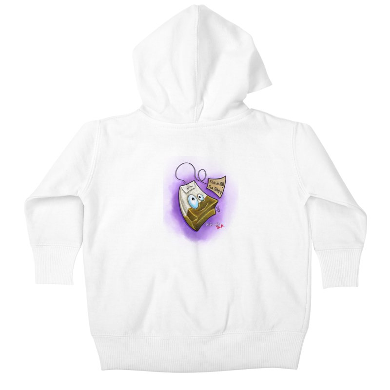 Twistid Tea shirt Kids Baby Zip-Up Hoody by Twistid ink's Artist Shop