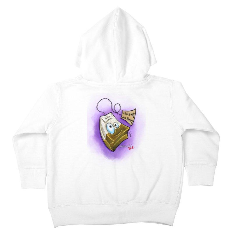 Twistid Tea shirt Kids Toddler Zip-Up Hoody by Twistid ink's Artist Shop