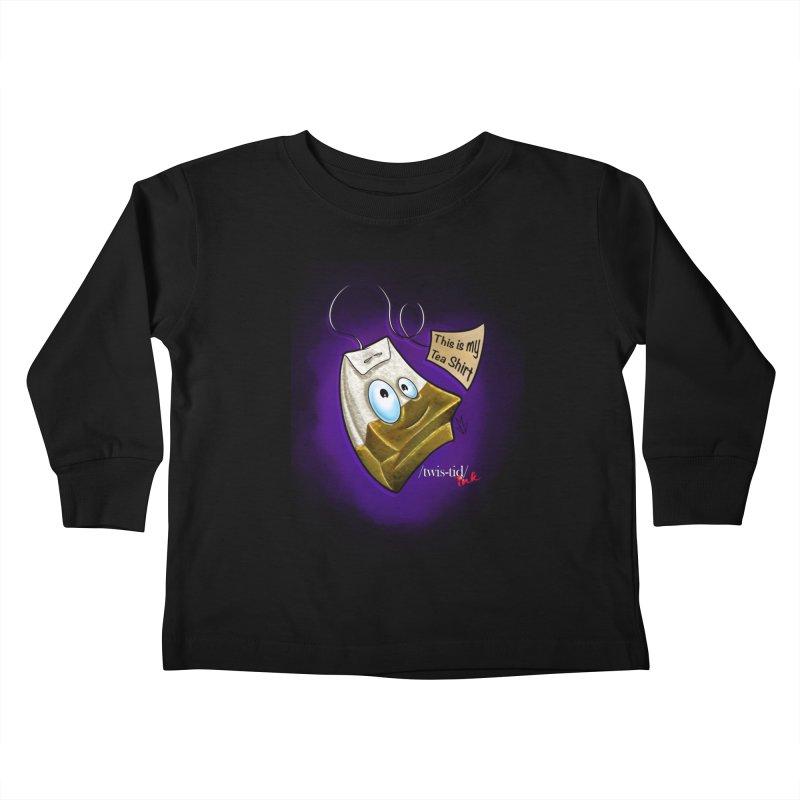 Twistid Tea shirt Kids Toddler Longsleeve T-Shirt by Twistid ink's Artist Shop