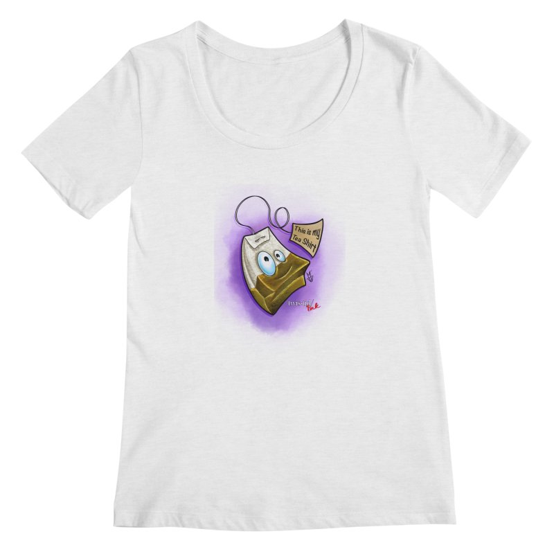 Twistid Tea shirt Women's Regular Scoop Neck by Twistid ink's Artist Shop