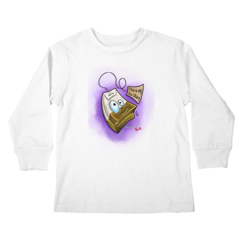 Twistid Tea shirt Kids Longsleeve T-Shirt by Twistid ink's Artist Shop