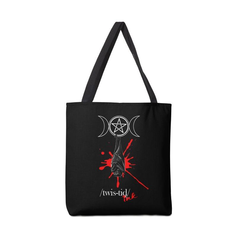 Twistid Bat Accessories Bag by Twistid ink's Artist Shop