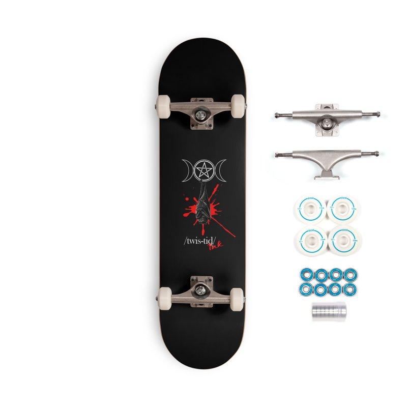 Twistid Bat Accessories Complete - Basic Skateboard by Twistid ink's Artist Shop