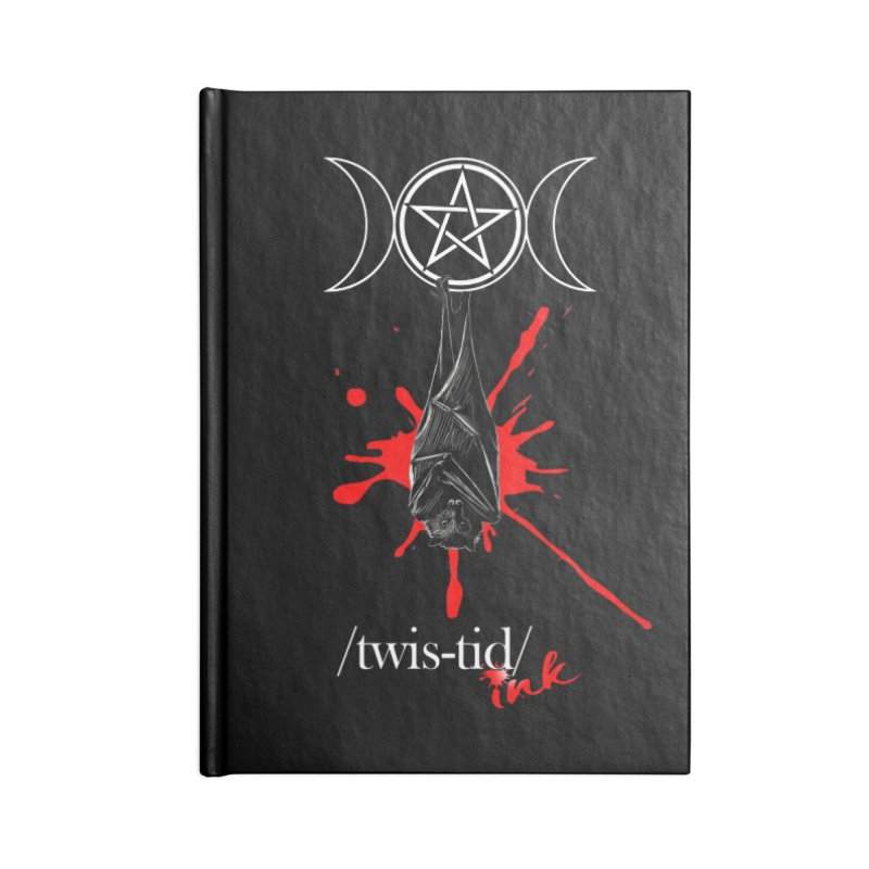 Twistid Bat Accessories Notebook by Twistid ink's Artist Shop